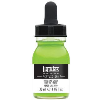 Liquitex Acrylic Ink 30ML 740 VIVID LIME GREEN 69070