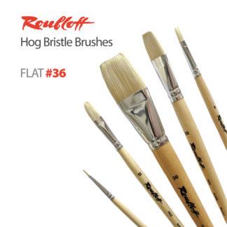 Roubloff Hog Bristle Brushes