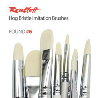 Roubloff Hog Bristle Imitation Brushes