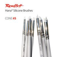 Roubloff Hana Silicone Brushes
