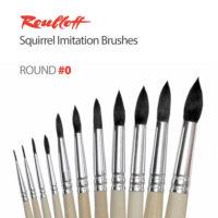 Roubloff Squirrel Imitation Watercolor Brushes