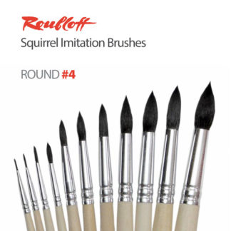 Roubloff Squirrel Imitation Watercolor Brushes