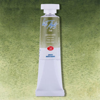 White Nights watercolor paint - Green Earth