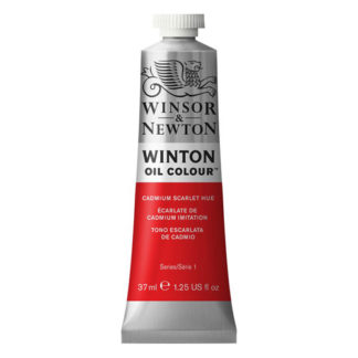 Winsor & Newton Winton Oil Paint - Scarlet Hue