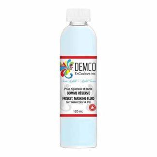 Demco masking fluid blue