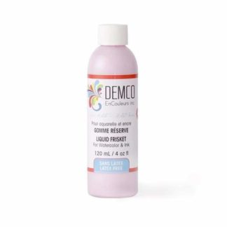 Demco masking fluid pink