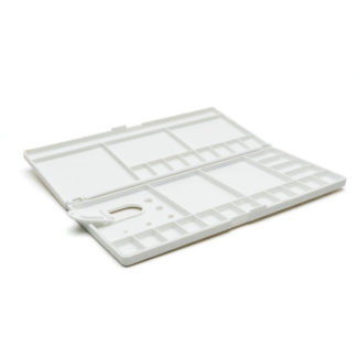 Art-Pro plastic palette foldable with wells