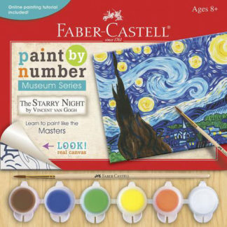 Faber-Castell paint by numbers