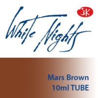 White Nights watercolor paint - Mars Brown