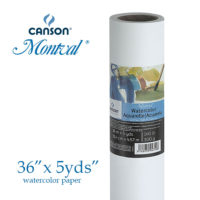 Canson Montval Watercolor Paper Roll