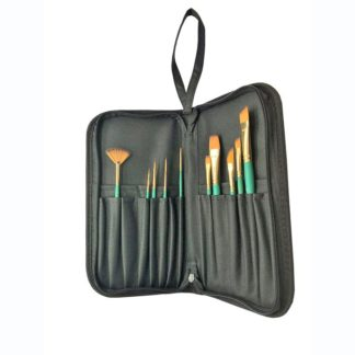 Case with 10 assorted brushes series 190