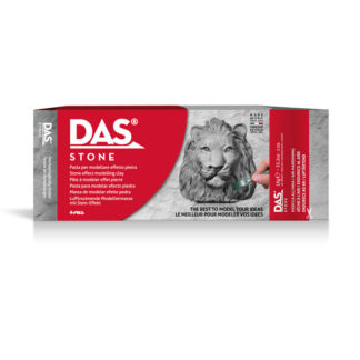 Das Air Hardening Modeling Clay Stone Gray