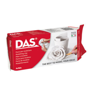 Das Air Hardening Modeling Clay White