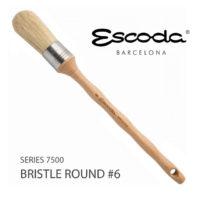 Escoda Series 7500 Brush Round 6
