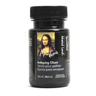 Mona Lisa Gold Leaf Waterbased Antiquing Glaze 2oz