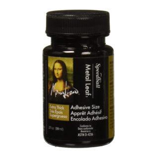 Mona Lisa Gold Leaf Thick Adhesive 2oz