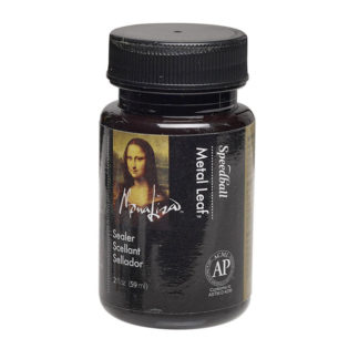 Mona Lisa Gold Leaf Waterbased Sealer 2oz