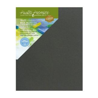 Pastel Premier™ Sanded Eco Panel, Medium Grit, 16x20 inches, Slate, 1 Panel